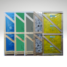 Protective film for crates